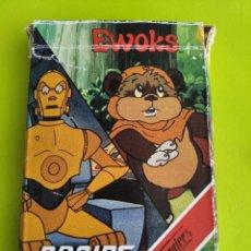 Mazzi di carte: ANTIGUA BARAJA CARTAS FOURNIER EWOKS Y DROIDS 1986 INCOMPLETA. Lote 275573843