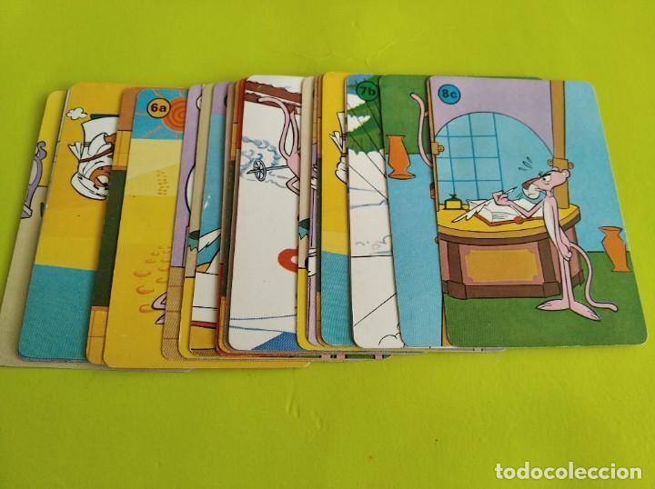 ANTIGUA BARAJA CARTAS FOURNIER LA PANTERA ROSA 1983 INCOMPLETA (Juguetes y Juegos - Cartas y Naipes - Barajas Infantiles)