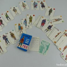 Jeux de cartes: BARAJA DE CARTAS UNIFORMES MILITARES. Lote 275690778