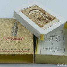 Jeux de cartes: BARAJA DE MONUMENTOS DE ESPAÑA. NAIPE DE LUJO DE HERACLIO FOURNIER.. Lote 275694103