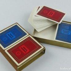 Jeux de cartes: DOS BARAJAS DE FOURNIER LOTERIA NACIONAL. Lote 275694328