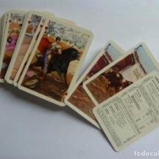 Barajas de cartas: BARAJA TAURINA. DIBUJOS DE ANTONIO CASERO. HERACLIO FOURNIER. Lote 275768158