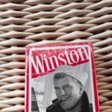 Baralhos de cartas: BARAJA ESPAÑOLA EDITADA POR FOURNIER CON PUBLICIDAD DE WINSTON, PRECINTADA. Lote 275797733