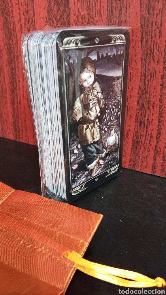 Barajas de cartas: LUDY LESCOT TAROT RARO IMAGENES GÓTICAS OSCURAS. - Foto 2 - 275886033