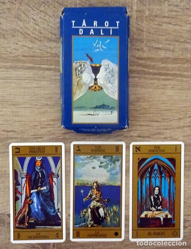 CARTAS TAROT DALÍ (Juguetes y Juegos - Cartas y Naipes - Barajas Tarot)