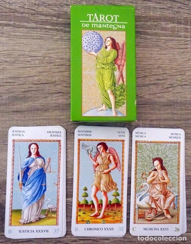 CARTAS TAROT DE MANTEGNA (Juguetes y Juegos - Cartas y Naipes - Barajas Tarot)
