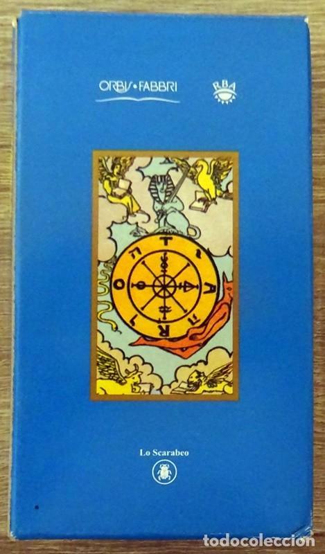 Barajas de cartas: CARTAS TAROT ARTHUR E. WAITE 1910 - Foto 5 - 275892743