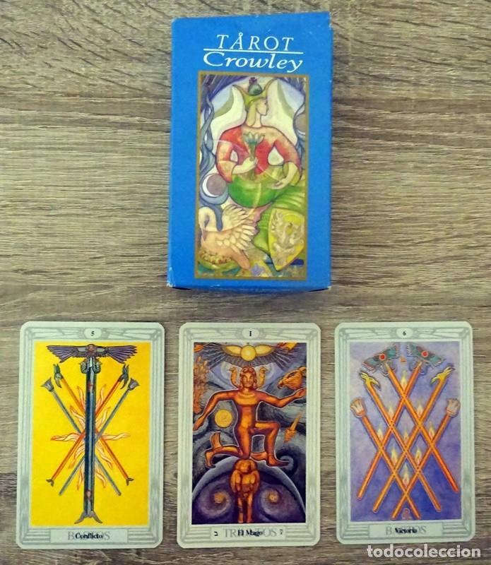 CARTAS TAROT CROWLEY (Juguetes y Juegos - Cartas y Naipes - Barajas Tarot)