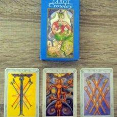 Barajas de cartas: CARTAS TAROT CROWLEY. Lote 275893608
