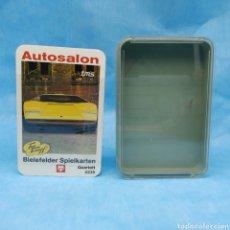 Barajas de cartas: BARAJA AUTOSALON TOP TRUMPF TMS - CUARTETOS DE COCHES NÚMERO 0235 - NUEVA A ESTRENAR 1972-1973. Lote 275938138