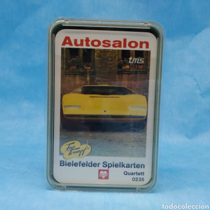 Barajas de cartas: Baraja AUTOSALON top trumpf tms - Cuartetos de coches número 0235 - nueva a estrenar 1972-1973 - Foto 5 - 275938138