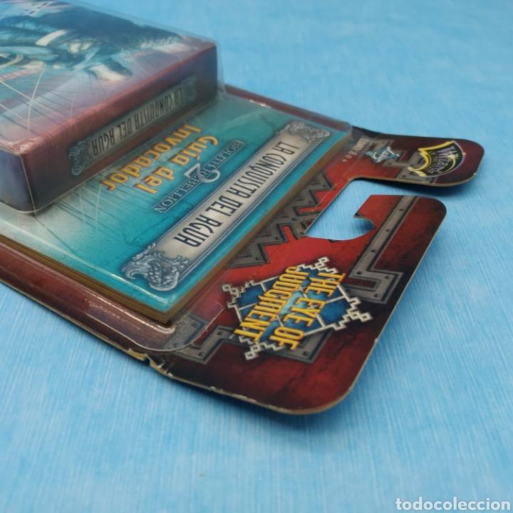Barajas de cartas: Lote de 3 barajas de cartas SONY PLAYSTATION 3 año 2008 THE EYE OF JUDGMENT - Hasbro - Foto 5 - 275941173