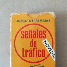 Barajas de cartas: BARAJA CARTAS HERACLIO FOURNIER: SEÑALES DE TRAFICO IMPERATIVAS (JUEGO DE FAMILIAS) - SIN USO - 1972. Lote 276206208