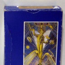 Baralhos de cartas: TAROT ALEISTER CROWLEY CON 2 MAGUS EXTRA. 11 X 7 CM.. Lote 276228438