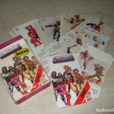 Baralhos de cartas: BARAJA DE CARTAS MASTERS DEL UNIVERSO - AÑOS 80. Lote 276420888