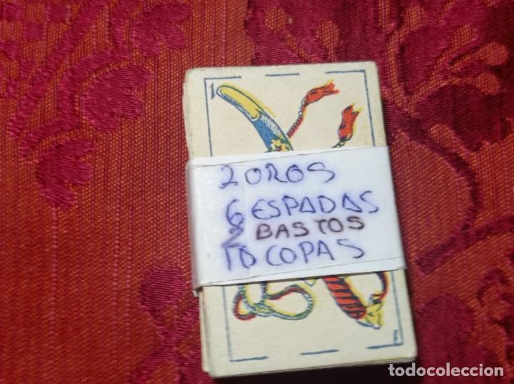 Barajas de cartas: Original no copia. Lote colección baraja azafrán condimentos polluelos Novelda - Foto 3 - 276464038