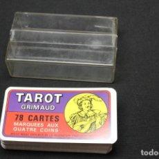 Barajas de cartas: TAROT GRIMAUD 78 CARTAS , 22 ARCANOS. Lote 276666868