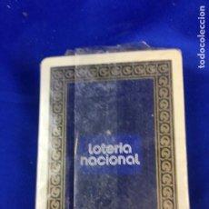 Barajas de cartas: BARAJA POKER LOTERIA NACIONAL. Lote 276678148