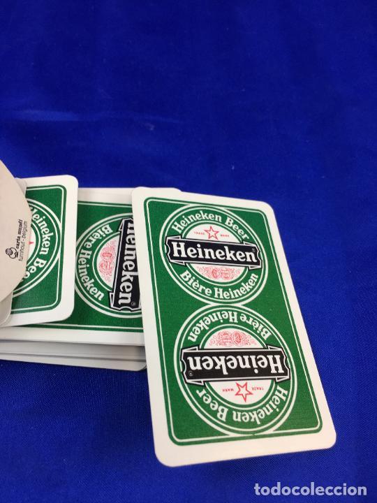 Barajas de cartas: BARAJA POKER HEINEKEN - Foto 3 - 276678303