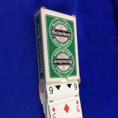 Barajas de cartas: BARAJA POKER HEINEKEN. Lote 276678303