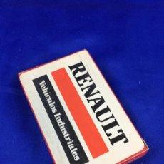 Barajas de cartas: BARAJA ESPAÑOLA RENAULT. Lote 276678653