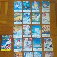 Mazzi di carte: BARAJA FOURNIER : LA LLAMADA DE LOS GNOMOS 1987 COMPLETA. Lote 276756213