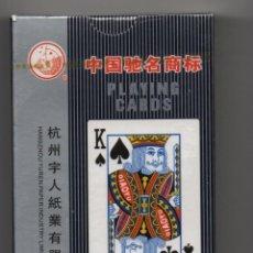Barajas de cartas: CARTAS-- BARAJA DE POKER -CHINO-PLAYING CARDS. Lote 276946443