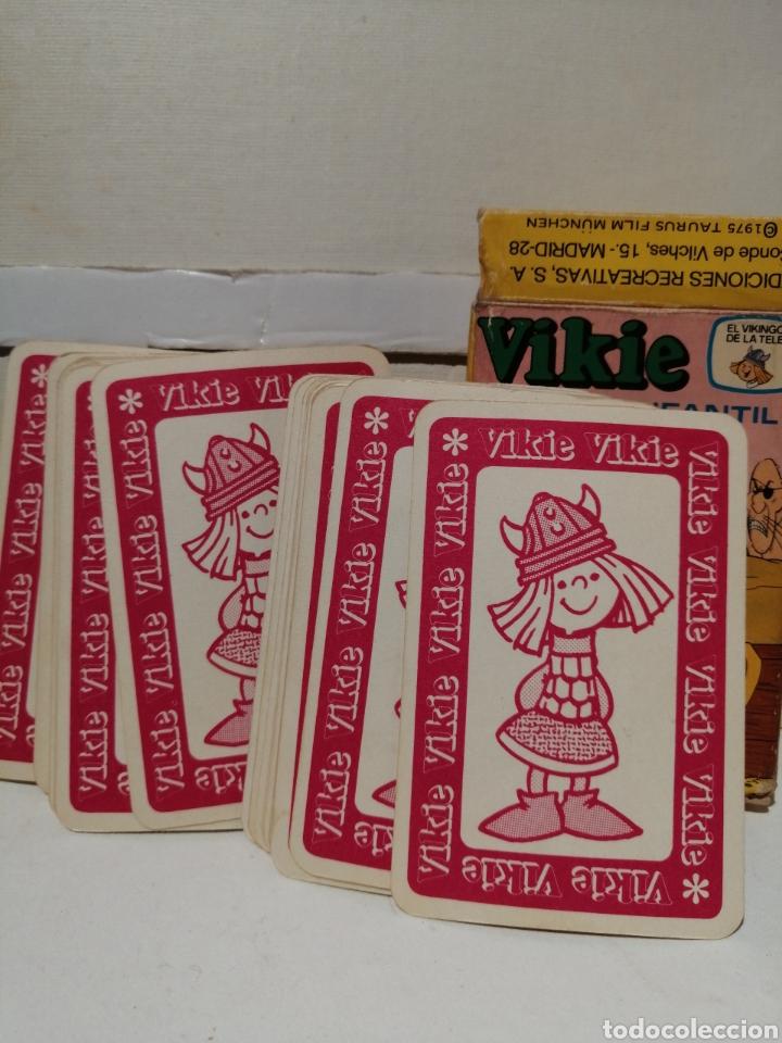 Barajas de cartas: Baraja VIKIE EL VIKINGO Cartas infantiles Completa y en caja original - Foto 2 - 277061408