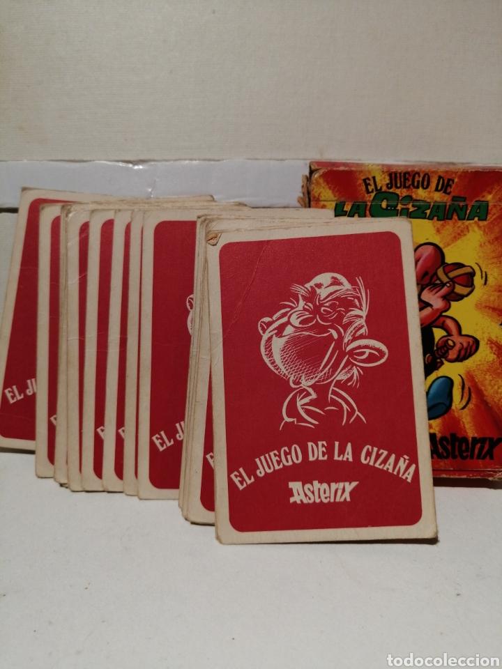 Barajas de cartas: Baraja Asterix El Juego se la Cizaña Cartas infantiles Completa y en su caja original - Foto 2 - 277062628