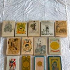 Barajas de cartas: LOTE DE BARAJAS ANTIGUAS , REPRODUCCIONES AÑO 2004 :. Lote 277143298
