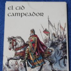 Jeux de cartes: BARAJA ESPAÑOLA - EL CID CAMPEADOR - CAJA DE BURGOS. Lote 277204738