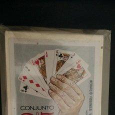 Jeux de cartes: CONJUNTO MÁGICO DE CARTAS HERACLIO FOURNIER MAGIA CON NAIPES PRECINTADO. Lote 277221608