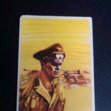 Barajas de cartas: CARTA/CROMO. QUESO MILKANA. HOMBRES FAMOSOS. ERWIN ROMMEL.. Lote 277250048