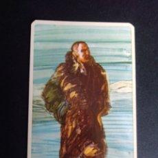 Barajas de cartas: CARTA/CROMO. QUESO MILKANA. HOMBRES FAMOSOS. ROALD AMUNDSEN.. Lote 277250188