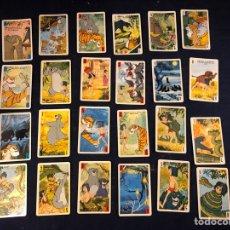 Barajas de cartas: CARTAS EL NIÑO DE LA SELVA. Lote 277432668
