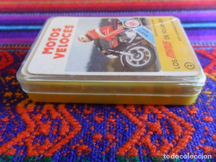 Barajas de cartas: BUEN ESTADO Y COMPLETA, MOTOS VELOCES, LOS MINIS DE FOURNIER Nº 2. AÑOS 70. - Foto 2 - 277584908