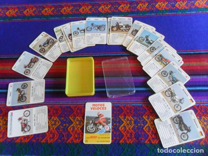 Barajas de cartas: BUEN ESTADO Y COMPLETA, MOTOS VELOCES, LOS MINIS DE FOURNIER Nº 2. AÑOS 70. - Foto 4 - 277584908