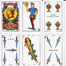 Baralhos de cartas: BARAJA ESPAÑOLA LAURA Y DANI. Lote 277637948