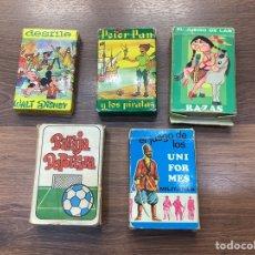 Barajas de cartas: LOTE DE BARAJAS CARTAS INFANTILES. Lote 277750453
