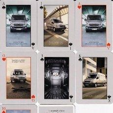 Barajas de cartas: BARAJA POKER MERCEDES BENZ - SPRINTER. Lote 277822668