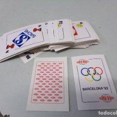 Barajas de cartas: CARTAS BARAJA TELEKITOS BARCELONA 92 COMO NUEVAS A 2 EUROS UNIDAD CONSULTA TUS FALTAS. Lote 278184473