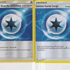 Barajas de cartas: CARTAS DE POKÉMON ENERGIA DEL AÑO 2019 DOS CARTAS DIFERENTES. Lote 278329888