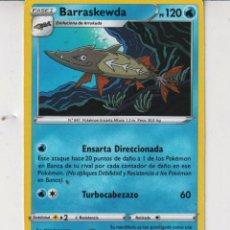 Barajas de cartas: CARTAS DE POKÉMON BARRASKEWDA PS 120 Nº 847. Lote 278332378