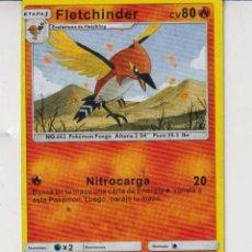 Barajas de cartas: CARTAS DE POKÉMON FLETCHINDER PS 80 Nº 662. Lote 278344203