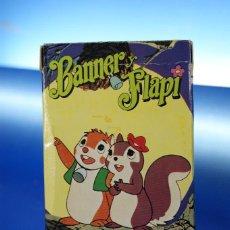 Barajas de cartas: BANNER Y FLAPI. BARAJA INFANTIL, 32 CARTAS. FOURNIER VITORIA, 1980. COMPLETA CON INSTRUCCIONES.. Lote 278345908