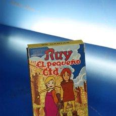 """Barajas de cartas: RUY """"EL PEQUEÑO CID"""". BARAJA INFANTIL, 32 CARTAS. FOURNIER VITORIA, 1980. COMPLETA CON INSTRUCCIONES. Lote 278346723"""