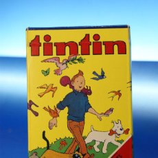 Mazzi di carte: TINTIN. BARAJA INFANTIL, 32 CARTAS. FOURNIER VITORIA, 1980. COMPLETA CON INSTRUCCIONES. COMO NUEVA.. Lote 278347913