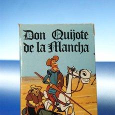 Barajas de cartas: DON QUIJOTE DE LA MANCHA. BARAJA INFANTIL, 32 CARTAS. FOURNIER VITORIA, 1979. COMPLETA. Lote 278348848