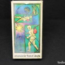 Mazzi di carte: TAROT MASÓNICO DECK POR JEAN BEAUCHARD. Lote 278694733