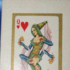 Barajas de cartas: BARAJA DE CARTAS EUROPE. BRIDGE PLAYING CARDS. PLASTIC COATED. MADE IN SPAIN. ILUSTRADAS POR TEODORO. Lote 278918978